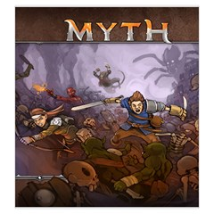 Mythbag By Dean   Drawstring Pouch (large)   2nk7c5426adi   Www Artscow Com Back