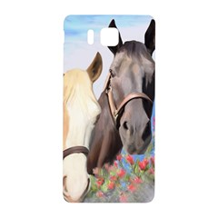 Miwok Horses Samsung Galaxy Alpha Hardshell Back Case by JulianneOsoske