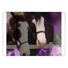 Two Horses Samsung Galaxy Tab 8 9  P7300 Flip Case by JulianneOsoske
