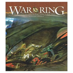 War Of The Ring Bag By Stuart Finlay   Drawstring Pouch (medium)   35aecq9oxno8   Www Artscow Com Front