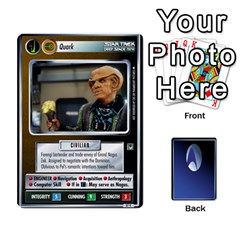 The Gamma Quadrant By Max   Playing Cards 54 Designs   W1arm8w3ypy4   Www Artscow Com Front - Heart6