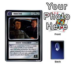 The Gamma Quadrant By Max   Playing Cards 54 Designs   W1arm8w3ypy4   Www Artscow Com Front - Diamond4