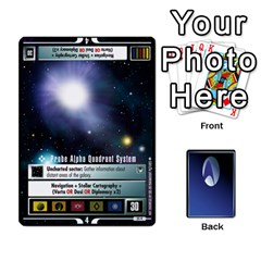 The Gamma Quadrant By Max   Playing Cards 54 Designs   W1arm8w3ypy4   Www Artscow Com Front - Diamond5