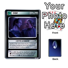 The Gamma Quadrant By Max   Playing Cards 54 Designs   W1arm8w3ypy4   Www Artscow Com Front - Club8