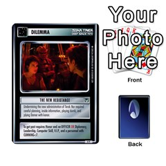 The Gamma Quadrant By Max   Playing Cards 54 Designs   W1arm8w3ypy4   Www Artscow Com Front - Club10