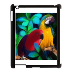 Two Friends Apple Ipad 3/4 Case (black) by JulianneOsoskeFeathers