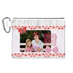 mothers day - Canvas Cosmetic Bag (Large)