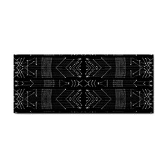 Black And White Tribal  Hand Towel by dflcprints