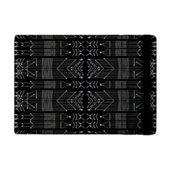 Black And White Tribal  Apple Ipad Mini Flip Case by dflcprints