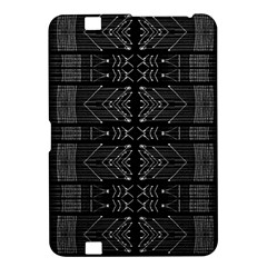 Black And White Tribal  Kindle Fire Hd 8 9  Hardshell Case by dflcprints