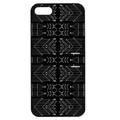 Black And White Tribal  Apple Iphone 5 Hardshell Case With Stand by dflcprints