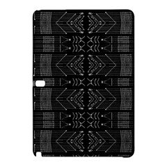 Black And White Tribal  Samsung Galaxy Tab Pro 12 2 Hardshell Case by dflcprints