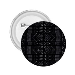 Black And White Tribal  2 25  Button by dflcprints