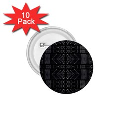 Black and White Tribal  1.75  Button (10 pack) by dflcprints