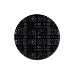 Black And White Tribal  Drink Coasters 4 Pack (round) by dflcprints
