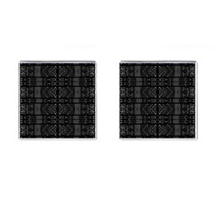 Black And White Tribal  Cufflinks (square) by dflcprints