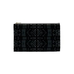 Black And White Tribal  Cosmetic Bag (small) by dflcprints