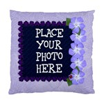 Purple Ladybug Standard Cushion Case - Standard Cushion Case (One Side)