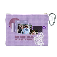 Mothers Day By Mom   Canvas Cosmetic Bag (xl)   Zuc3rez6o948   Www Artscow Com Back