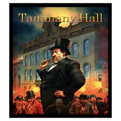 Capnyb Tammany Hall Medium Bag By Capnyb   Drawstring Pouch (medium)   Oyukgjj8cnmq   Www Artscow Com Back