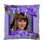 Purple Bleedingheart 3 Standard Cushion Case - Standard Cushion Case (One Side)