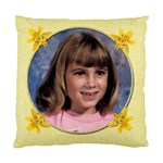 Yellow Lily Standard Cushion Case - Standard Cushion Case (One Side)