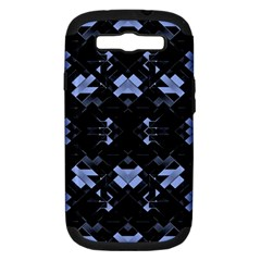 Futuristic Geometric Design Samsung Galaxy S Iii Hardshell Case (pc+silicone) by dflcprints
