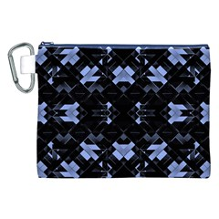 Futuristic Geometric Design Canvas Cosmetic Bag (xxl) by dflcprints