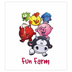 Fun Farm Large Drawstring Bag By Darkparelle Gmail Com   Drawstring Pouch (large)   3tvtipn2ed8v   Www Artscow Com Front