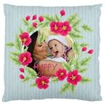 flower kids - Standard Flano Cushion Case (One Side)
