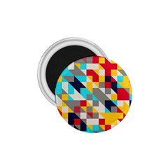 Colorful Shapes 1 75  Magnet by LalyLauraFLM