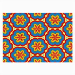 Floral pattern Glasses Cloth (Large) by LalyLauraFLM