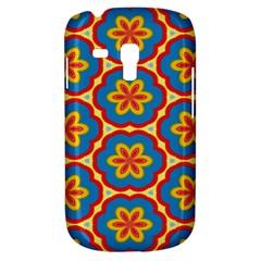 Floral pattern Samsung Galaxy S3 MINI I8190 Hardshell Case by LalyLauraFLM