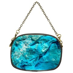 Turquoise Chain Purse (One Side) by Curioddities