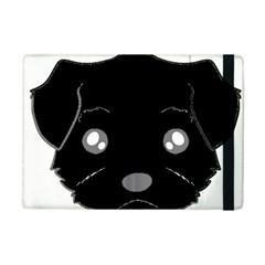 Affenpinscher Cartoon 2 Sided Head Apple iPad Mini 2 Flip Case by TailWags