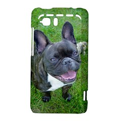 Sitting 2 French Bulldog HTC Vivid / Raider 4G Hardshell Case  by TailWags