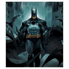 Batman Love Letter Small Deck Bag (art By El Grimlock) By Capnyb   Drawstring Pouch (small)   Tq7t8wo0apgo   Www Artscow Com Front