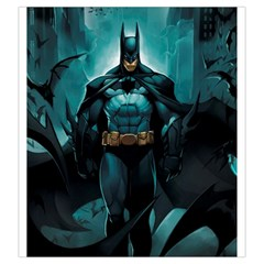 Batman Large Dice Bag (art By El Grimlock) By Capnyb   Drawstring Pouch (large)   N2qktn4z9hmq   Www Artscow Com Front