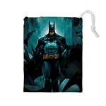 Batman Large Dice Bag (art by el-grimlock) - Drawstring Pouch (Large)