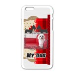 pet - Apple iPhone 6/6S White Enamel Case