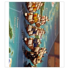 Merchants And Marauders Seas Of Glory By Hector Cornejo   Drawstring Pouch (large)   Gnays3uut79i   Www Artscow Com Back