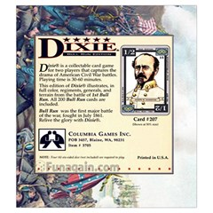 Dixie   Bull Run By Hector Cornejo   Drawstring Pouch (medium)   2hodbp3b246b   Www Artscow Com Front
