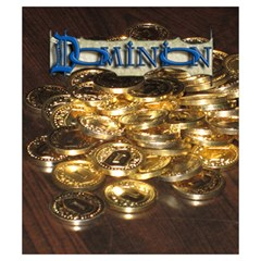 Dominion Token Pouch By Hector Cornejo   Drawstring Pouch (small)   Ljux8rg1i1ki   Www Artscow Com Front