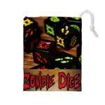 Zombie Dice III - Drawstring Pouch (Large)