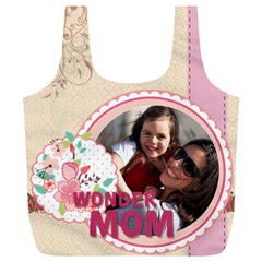Mothers Day By Mom   Full Print Recycle Bag (xl)   Reoaw50phdn6   Www Artscow Com Back