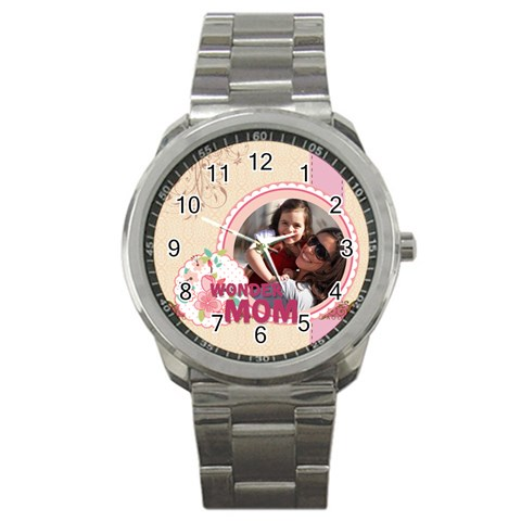 Mothers Day By Mom   Sport Metal Watch   R40u8rtr0jk4   Www Artscow Com Front