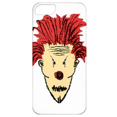 Evil Clown Hand Draw Illustration Apple Iphone 5 Classic Hardshell Case by dflcprints