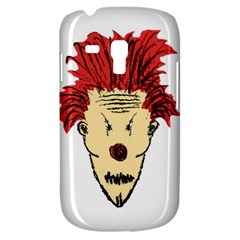 Evil Clown Hand Draw Illustration Samsung Galaxy S3 Mini I8190 Hardshell Case by dflcprints