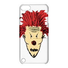 Evil Clown Hand Draw Illustration Apple Ipod Touch 5 Hardshell Case With Stand by dflcprints