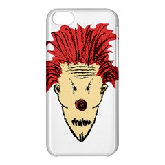 Evil Clown Hand Draw Illustration Apple Iphone 5c Hardshell Case by dflcprints